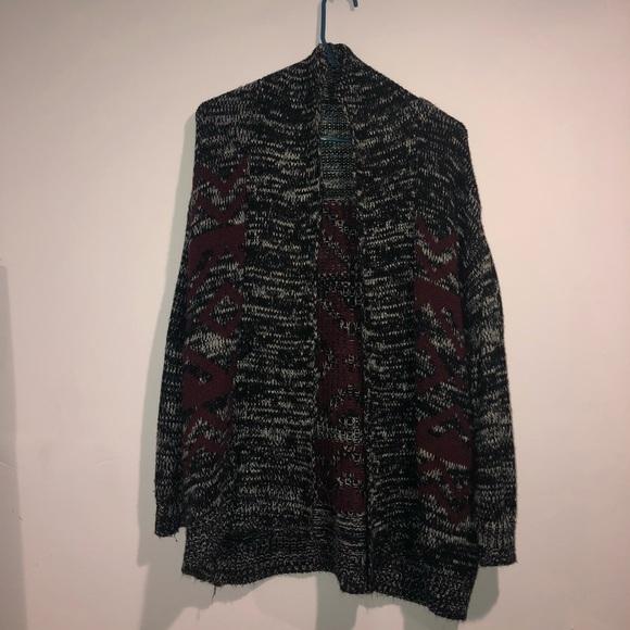 Sweaters | Aztec Pattern Knit Cardigan | Poshmark